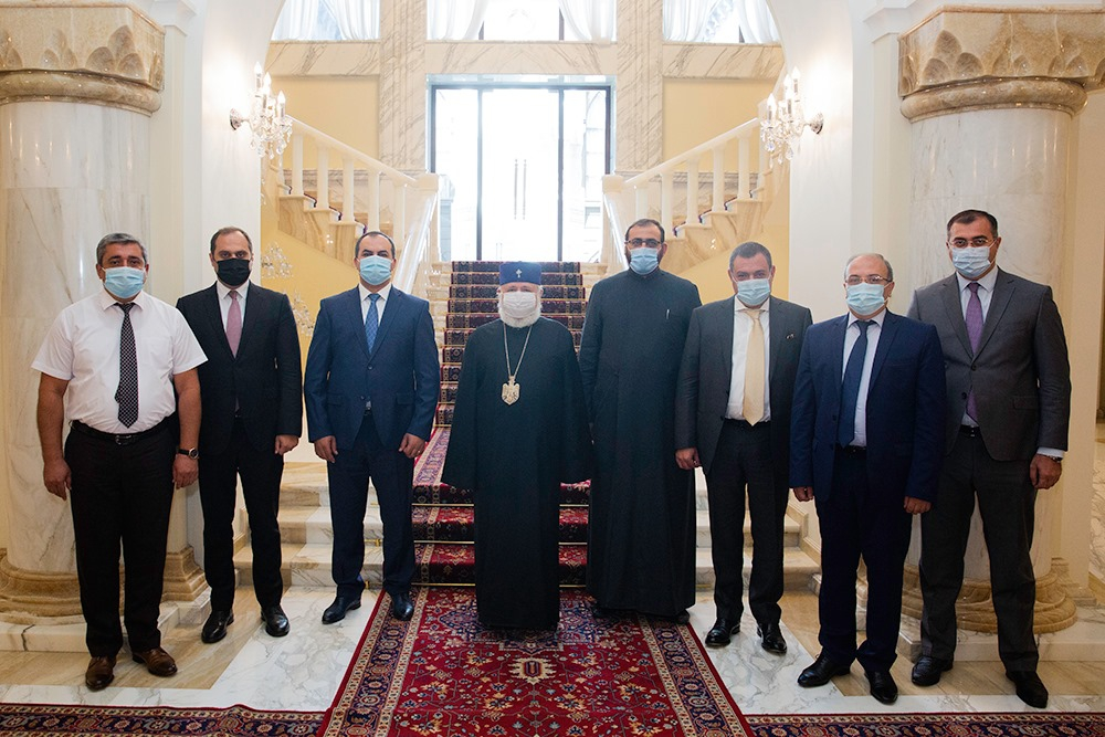 CATHOLICOS OF ALL ARMENIANS WILL SET A DAY FOR THE BLESSING OF THE LAWYERS