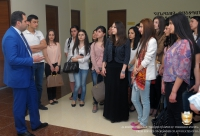 ARA ZOHRABYAN MET WITH THE STUDENTS OF THE FACULTY OF LAW OF YSU