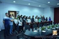 THE STUDENTS OF THE YEREVAN STATE UNIVERSITY VISITED TO THE CHAMBER OF ADVOCATES