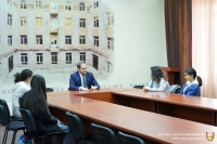 THE CHAMBER OF ADVOCATES HOSTED TO THE STUDENTS OF THE SOS CHILDREN